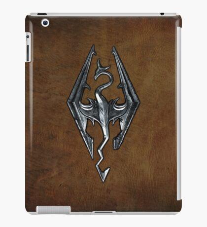 Skyrim Worn Leather Symbol iPad Case/Skin