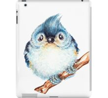 Tufted titmouse baby iPad Case/Skin