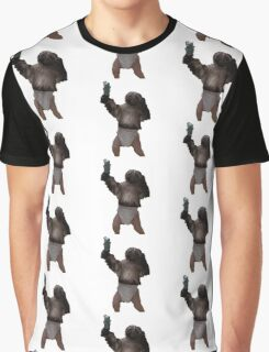 Puppy-Monkey-Baby Graphic T-Shirt