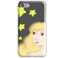 Stars Girl Blond iPhone Case/Skin