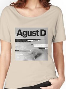 SUGA - AGUST D  Women's Relaxed Fit T-Shirt