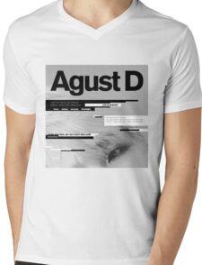 SUGA - AGUST D  Mens V-Neck T-Shirt