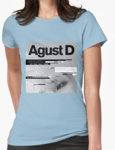 SUGA - AGUST D  Womens Fitted T-Shirt