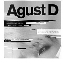 SUGA - AGUST D  Poster