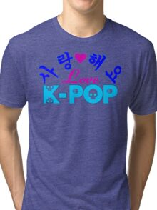 ♥♫Love-SaRangHaeYo K-Pop Fabulous K-Pop Clothes & Phone/iPad/Laptop/MackBook Cases/Skins & Bags & Home Decor & Stationary & Mugs♪♥ Tri-blend T-Shirt