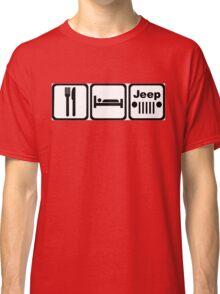 EAT SLEEP JEEP Version 2 Classic T-Shirt