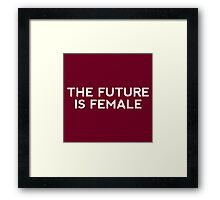 Future Female Framed Print