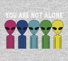 You Are Not Alone Baby Tee