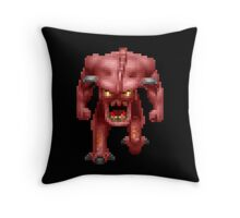 Doom Demon Throw Pillow