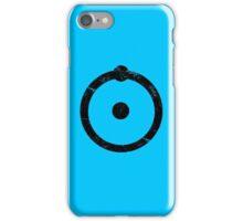 Doctor Manhattan Symbol Distressed Watchmen iPhone Case/Skin
