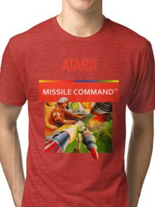 Atari Missile Command Tri-blend T-Shirt