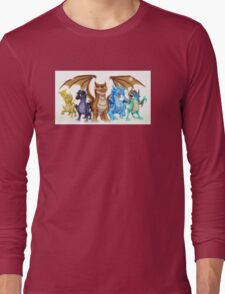 Wings of Fire Main Five Long Sleeve T-Shirt