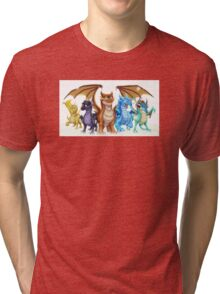Wings of Fire Main Five Tri-blend T-Shirt