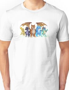 Wings of Fire Main Five Unisex T-Shirt