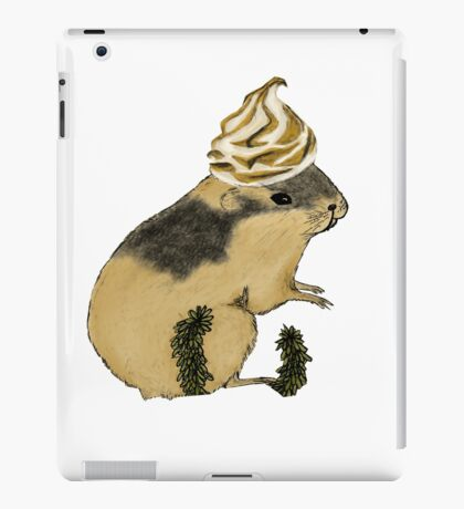 Arctic Lemming Meringue iPad Case/Skin