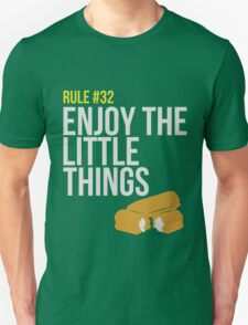 Zombie Survival Guide - Rule #32 - Enjoy the Little Things Unisex T-Shirt