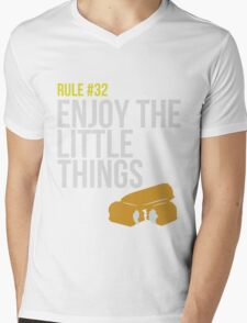 Zombie Survival Guide - Rule #32 - Enjoy the Little Things Mens V-Neck T-Shirt