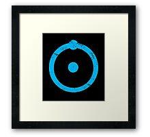 Doctor Manhattan Symbol Framed Print