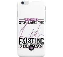 Genesis Northlane iPhone Case/Skin