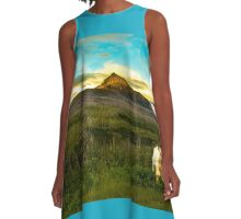 Grand Teton calf A-Line Dress