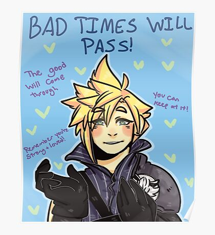 Motivational AC Cloud Poster