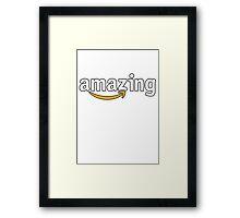 Amazing Amazon! Framed Print
