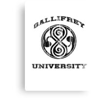 Gallifrey University Canvas Print