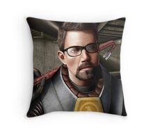 Half-life - Gordon Freeman Throw Pillow