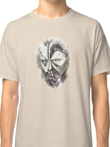face black and white Classic T-Shirt