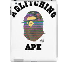 A Glitching Ape iPad Case/Skin