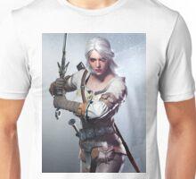White Hair Unisex T-Shirt