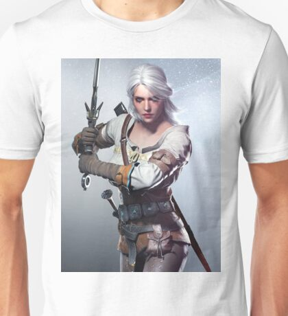 White Hair Unisex T-Shirt