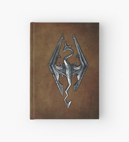 Skyrim Worn Leather Symbol Hardcover Journal