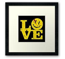 Watchmen Lover Framed Print