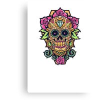 Awesome skull Canvas Print