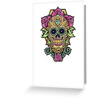 Awesome skull Greeting Card