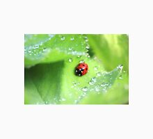 Ladybird and raindrops Unisex T-Shirt