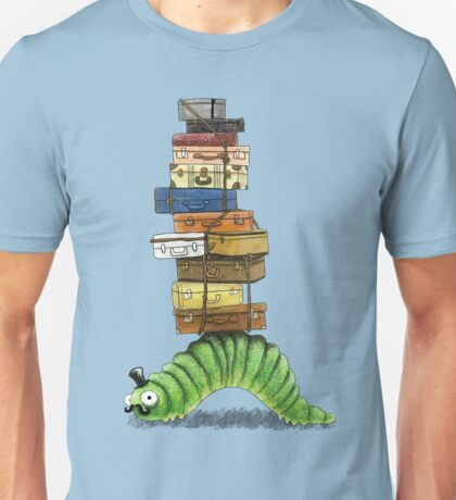 Monsieur Caterpillar Goes Travelling T-Shirt