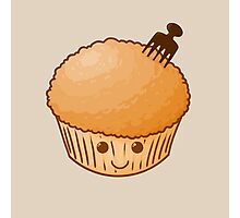 Afro Muffin Photographic Print