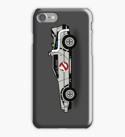 Ghostbusters To The Future! iPhone Case/Skin