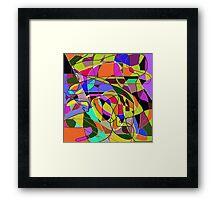 61 Framed Print
