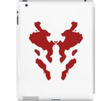 Rorschach Watchmen iPad Case/Skin