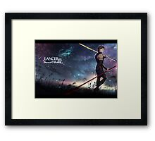 Fate Zero Lancer Framed Print