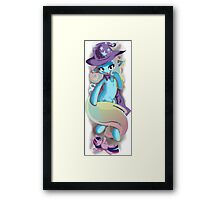 The Humble and Penitent Trixie Framed Print