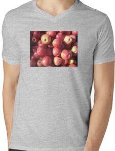 Apples Mens V-Neck T-Shirt