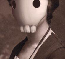 Skull Girl Sticker