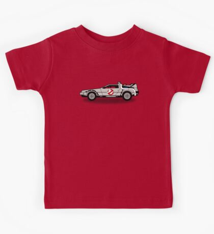Ghostbusters To The Future! Kids Tee