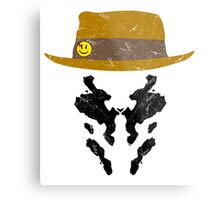 Rorschach Watchmen Vintage Metal Print