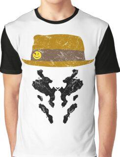 Rorschach Watchmen Vintage Graphic T-Shirt