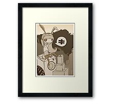 New Age Queen Framed Print
